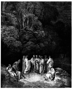 Gustave_Doré_-_Dante_Alighieri_-_Inferno_-_Plate_12_(Canto_IV_-_Limbo,_Dante_is_accepted_as_an_equal_by_the_great_Greek_and_Roman_poets)